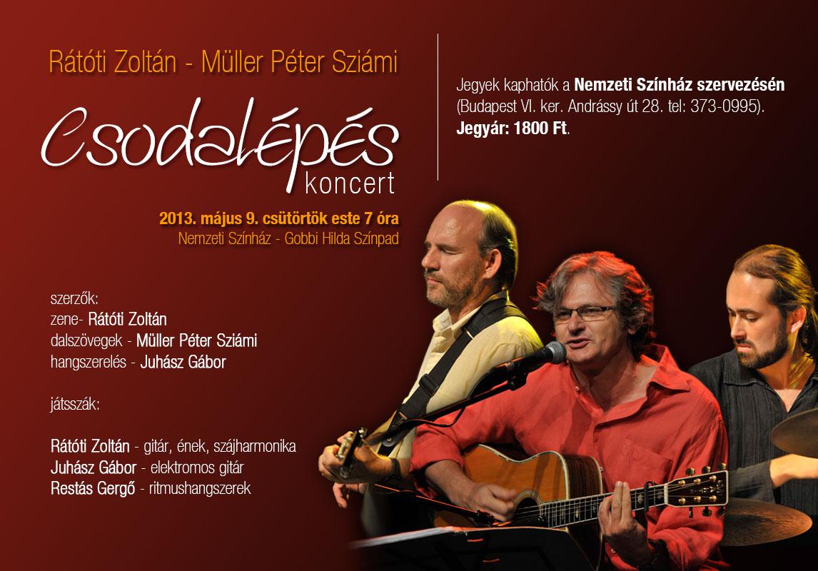 Rátóti Zoltán Trió – koncertek